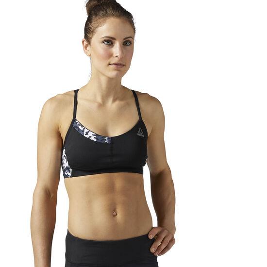 Reebok - Running Essentials Padded Sports Bra Black BQ5455