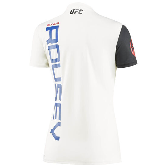 Reebok - UFC Fight Kit Ronda Rousey Walkout Jersey Chalk/Black AZ8979