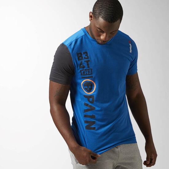 Reebok - ONE Series Breeze Short Sleeve Top Blue Sport AJ0835