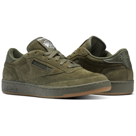 Reebok - Club C 85 SG Hunter Green/White-Gum BS7890