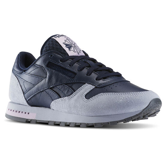 Reebok - Classic Leather GN Collegiate Navy/Colud Grey/Alloy/Shell Purple BD5168