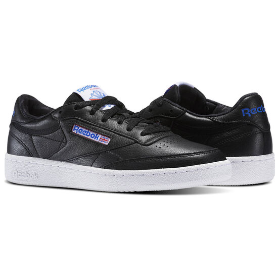 Reebok - Club C 85 SO Black/White/Vital Blue/Primal Red BS5213