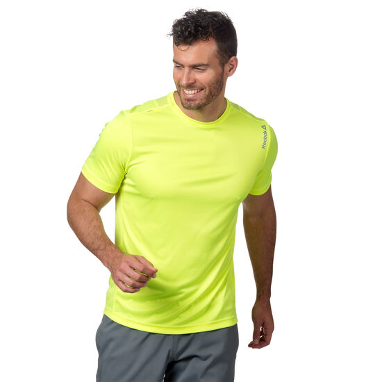 Reebok - Running Essentials Short Sleeve Tee Solar Yellow AO3508