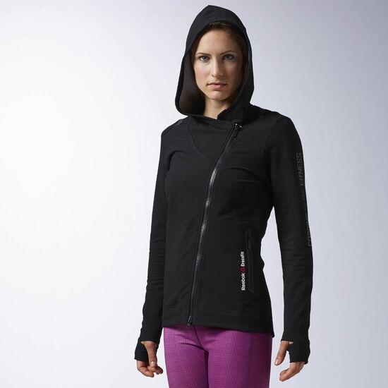 Reebok - Reebok CrossFit Fullzip Track Jacket Black AI9412
