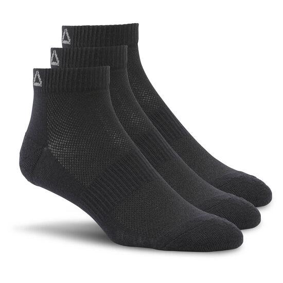 Reebok - Sport Essentials Ankle Sock - 3pack Black AJ6249