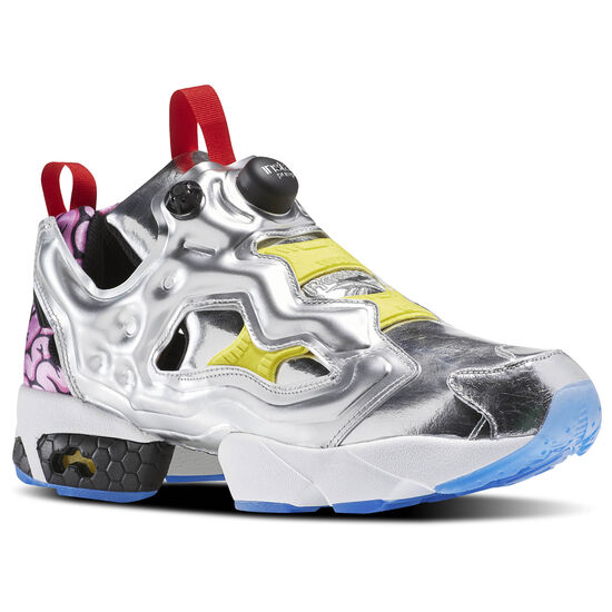 Reebok - InstaPump Fury OG VP Silv Met/Black/Bright Yellow/Scarlet-Ice AR1445