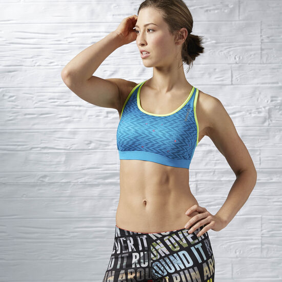 Reebok - Running Essentials Bra Wild Blue AX9856