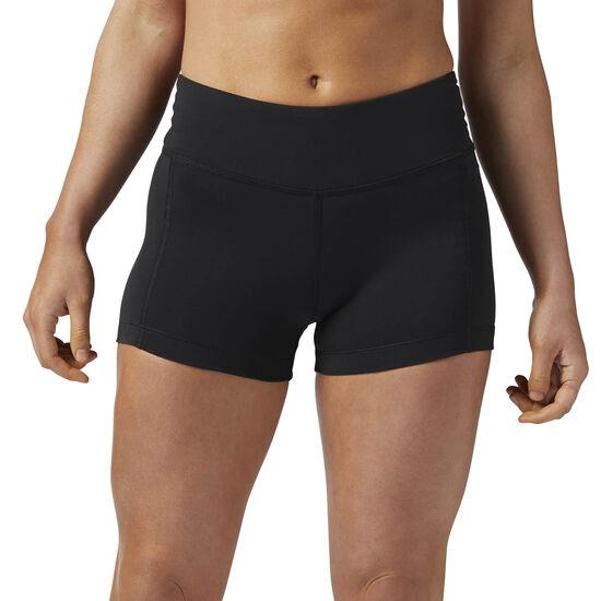 Reebok - Women's Reebok Lux Bootie Shorts Black BR2636