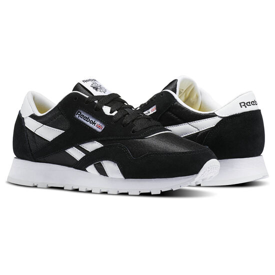 Reebok - Classic Nylon - Primary School Black/White J21506