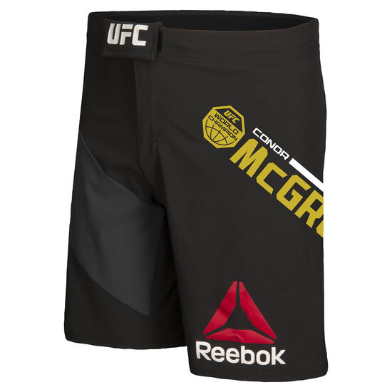 Reebok - UFC Fight Kit Champion Octagon Shorts Black/Gravel B39681