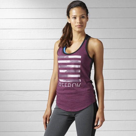 Reebok - Women's Workout Ready Cotton Series Graphic Tank Pacprp BK2874