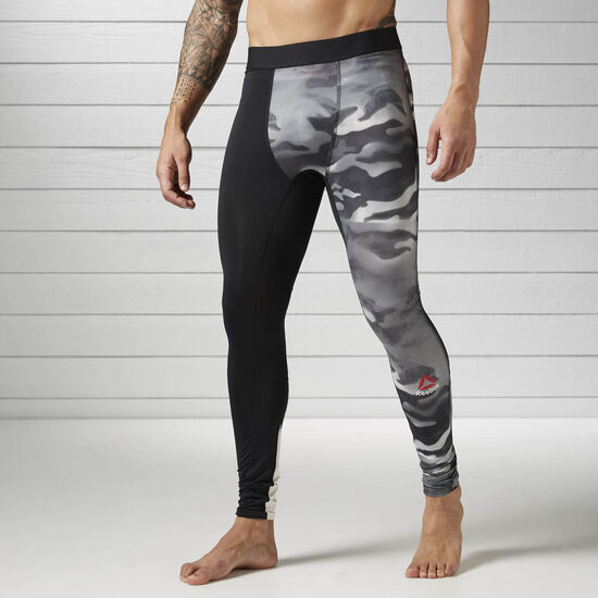Reebok - Spray Camo Compression Tight Black BK3982