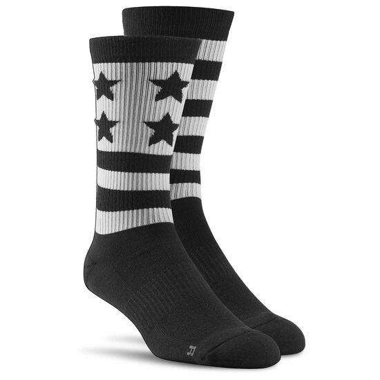 Reebok - Reebok CrossFit Mens Engineered Sock Black AJ6646