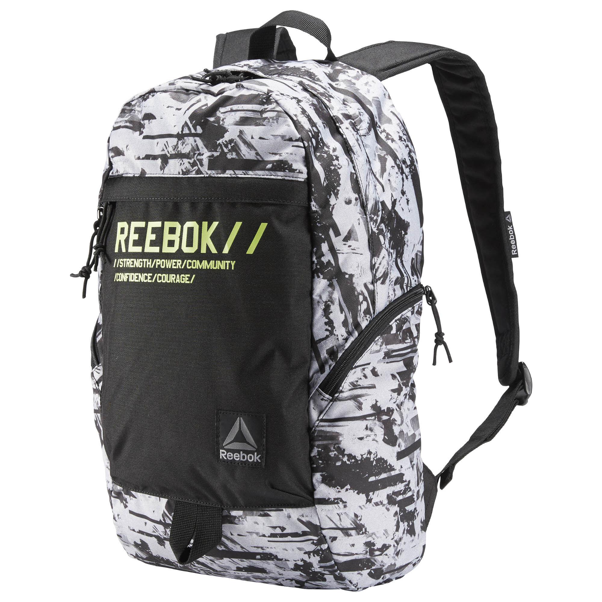 Reebok Foundation Medium Backpack - Black | Reebok MLT  |Reebok Backpack