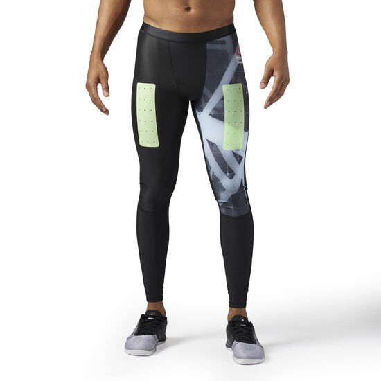 Reebok - Hommes Reebok Crossfit Compression Tight Black CE2847
