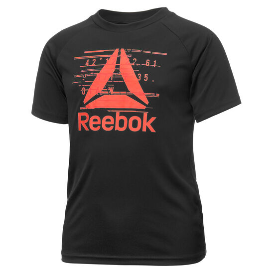 Reebok - Boys Essentials Polyester T-Shirt Black BK3365