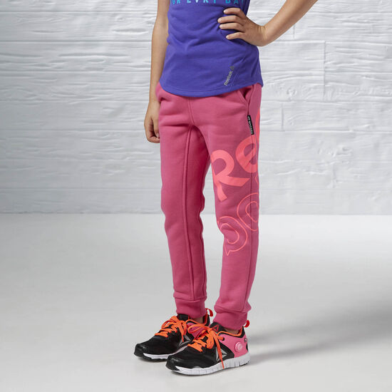 Reebok - Girl's Essentials Fleece Pant Rose Rage AY0674