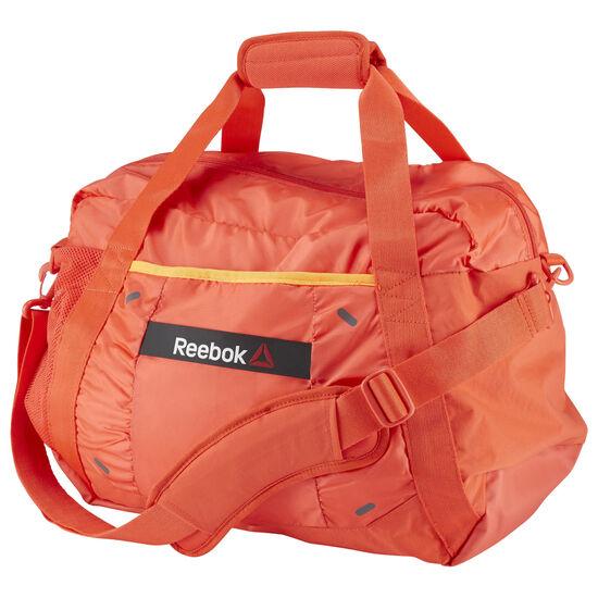Reebok - ONE Series Womens 30L Grip Duffle Bag Laser Red AJ6698