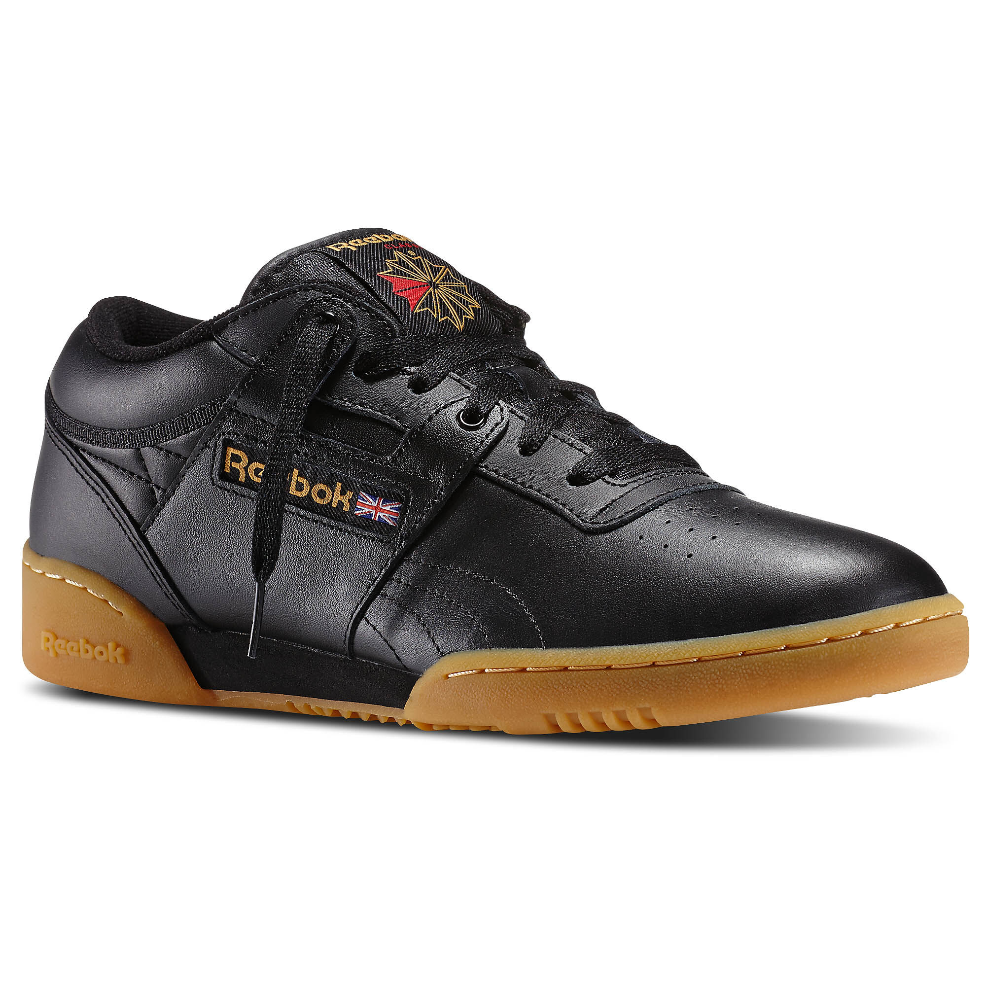 Buy black reebok classics with gum bottom   OFF53% Discounted 2e0ef3d33