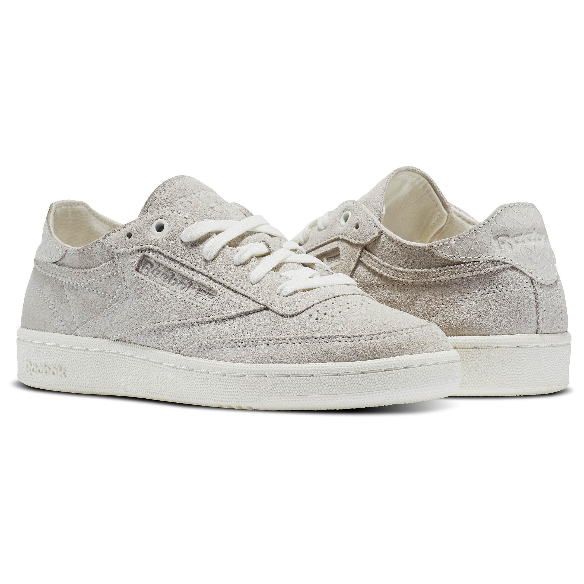 Mens Shoes Reebok CLub C85 SG Hunter Green BS7890