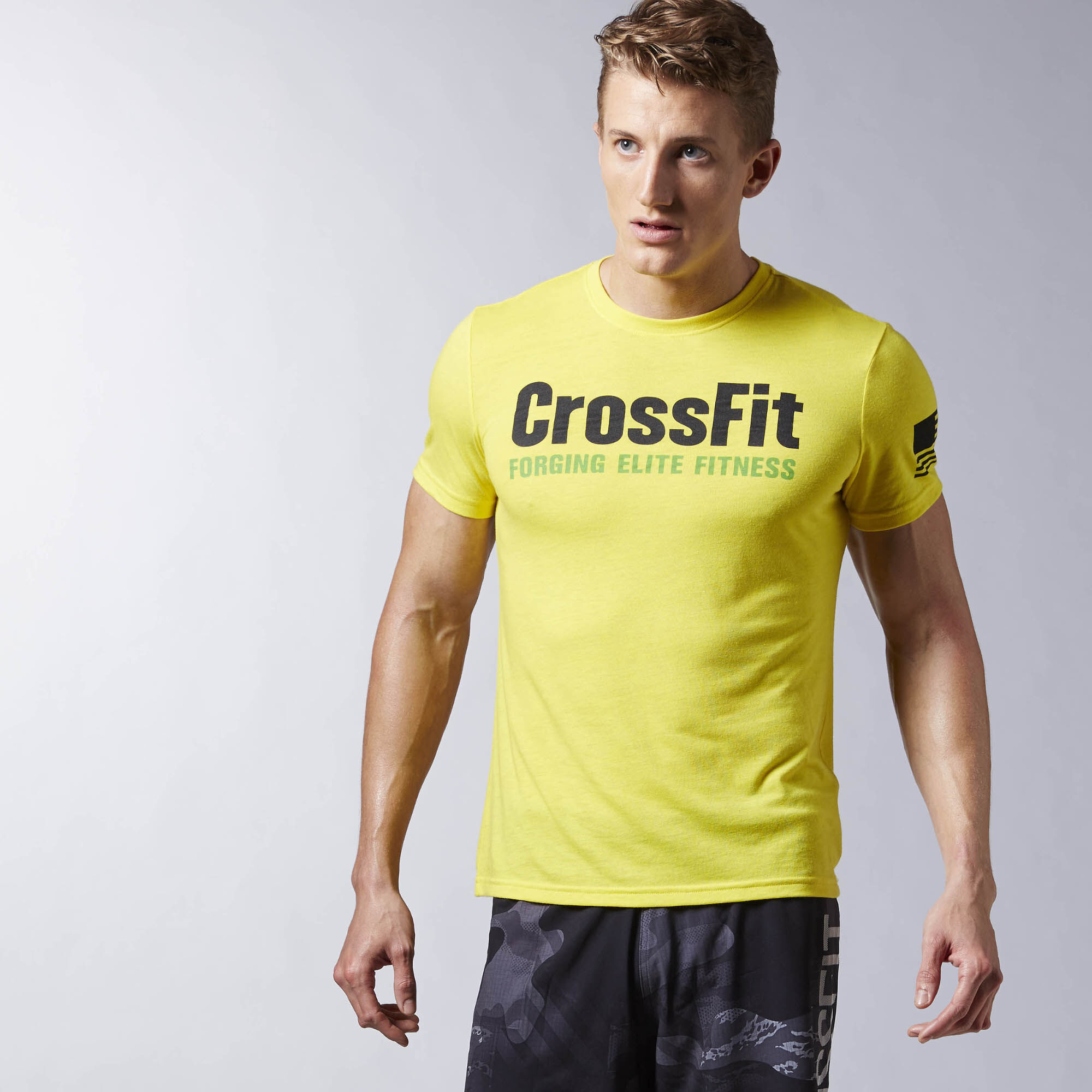t shirt reebok crossfit forging elite fitness. Black Bedroom Furniture Sets. Home Design Ideas
