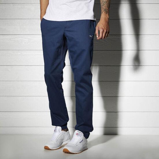Reebok - Спортивные брюки Reebok Classics Woven COLLEGIATE NAVY BK4318