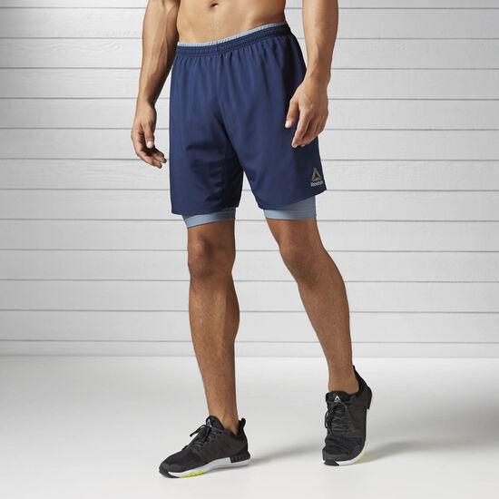 Reebok - Shorts 2-en-1 Running Essentials COLLEGIATE NAVY B47086
