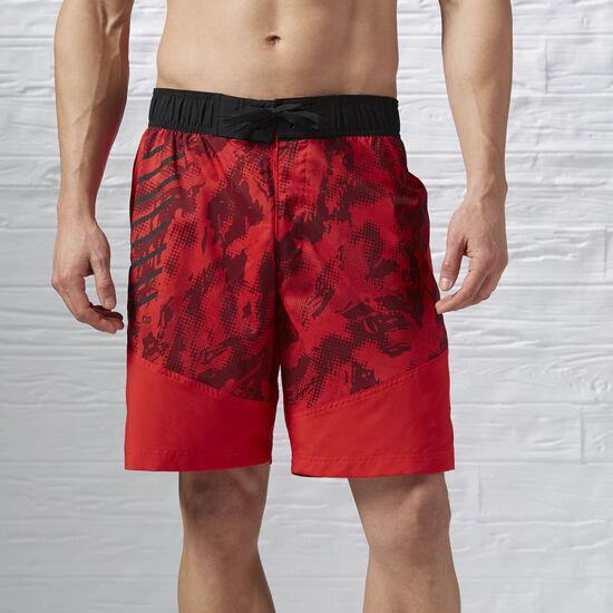 Reebok - Short de Training Workout Ready riot red f16-r AY2330