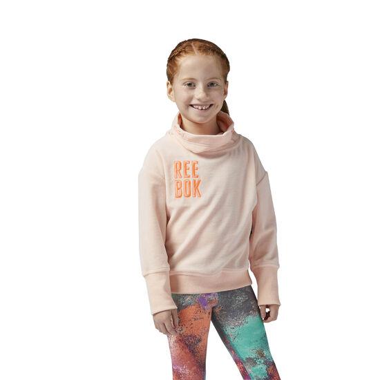 Reebok - Reebok Girl Squad Sweatshirt Peach Twist BR4370