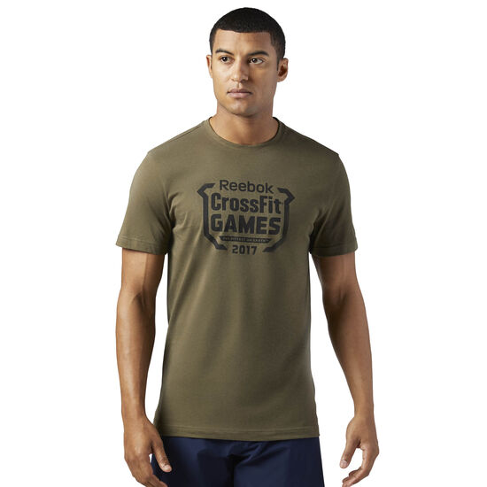 Reebok - Reebok CrossFit Games Tee Army Green CD7454