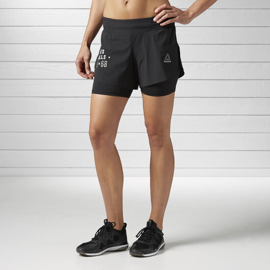 Reebok - LES MILLS Short Black BJ9638