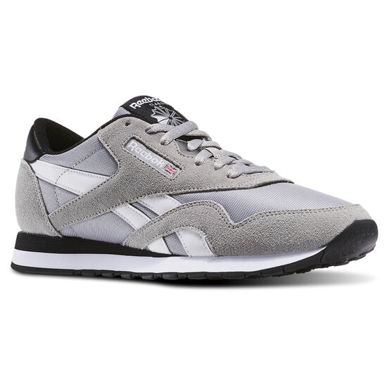 Reebok - Tênis Classic Nylon Ts Mgh Solid Grey/White/Black AR2779