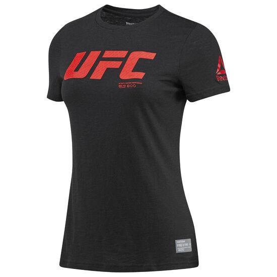 Reebok - UFC Ultimate Fan Logo Tee Black BQ7971