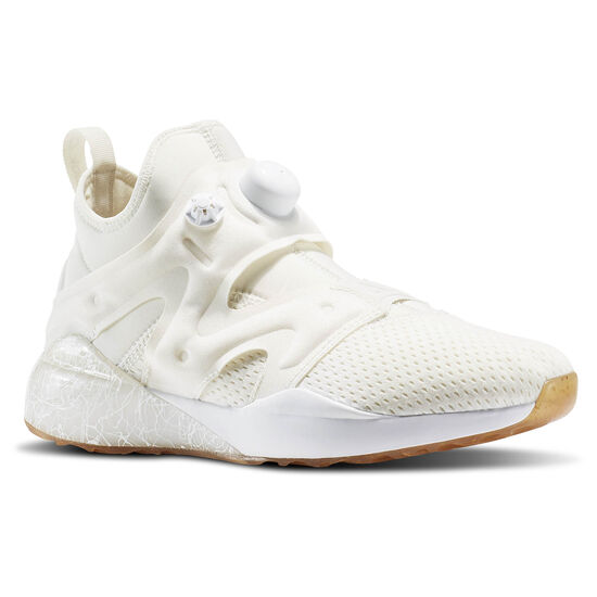 Reebok - The Pump Izarre Chalk/White/Gum/Black/Amber Gold/Classic White BD2063