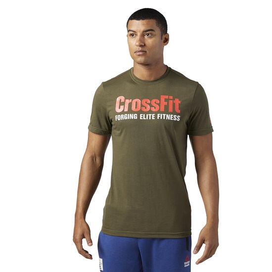 Reebok - Reebok CrossFit Speedwick F.E.F. Graphic Tee Army Green CE7207