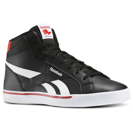 Reebok - Reebok Royal Complete 2ML Black/White/Riot Red AR2429