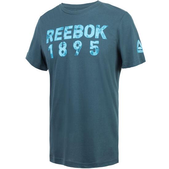 Reebok - Camiseta Reebok Tape MINERAL BLUE BR1924