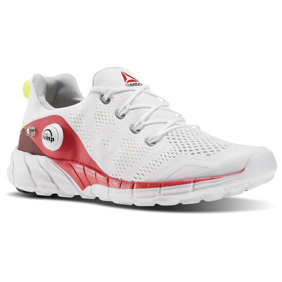 Reebok - ZPump Fusion 2.0 Knit White/Fearless Pink/Merlot/Slr Yellow V72806
