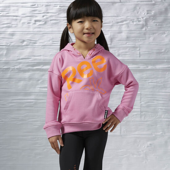 Reebok - Girls Essentials Pullover Hoodie Icono Pink AK0259