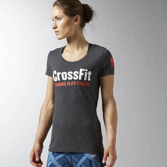 Reebok - Reebok CrossFit Forging Elite Fitness Tee Black AP9633
