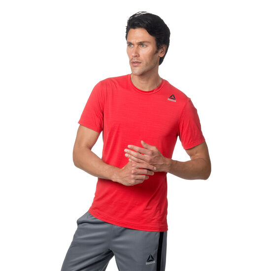 Reebok - Workout Ready ACTIVCHILL Tech Tee Primal Red BS1403