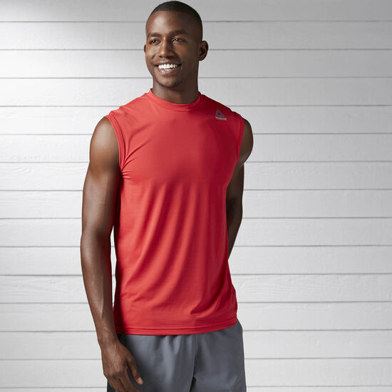 Reebok - Workout Ready ACTIVCHILL Tank Primal Red BS1422