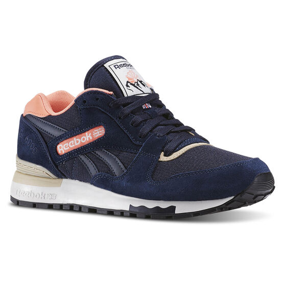 Reebok - GL 6000 Out-Color Faux Indigo/Stellar Pink/Oatmeal/Chalk/Black BD1580