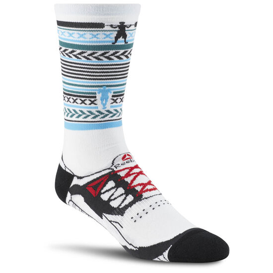 Reebok - Engineered Unisex Crew Sock White CD1316