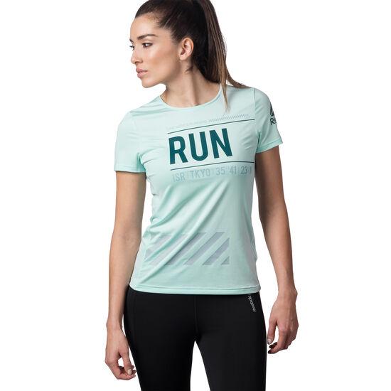 Reebok - T-shirt de running Mist S99828