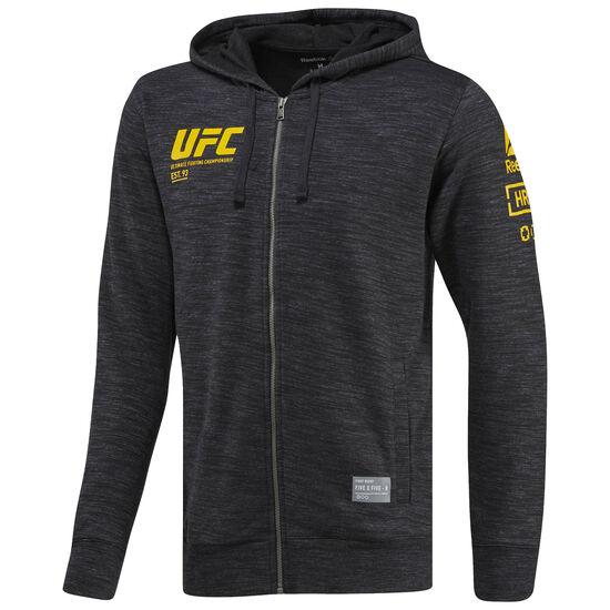 Reebok - UFC Ultimate Fan Full Zip Hoodie Black BP8772