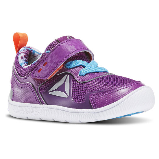 Reebok - Infants Ventureflex Stride 5.0 Aubergine/Blue Beam/Vitamin C/White BD3696