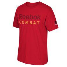Reebok - Reebok Combat Tee Red BU5211