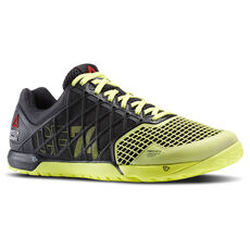 Reebok - Men's Reebok CrossFit Nano 4.0 Black/High Vis Green M40521