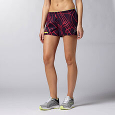 Reebok - Women's Reebok ONE 3-in-1 Short portrait purple f14-r Z89361